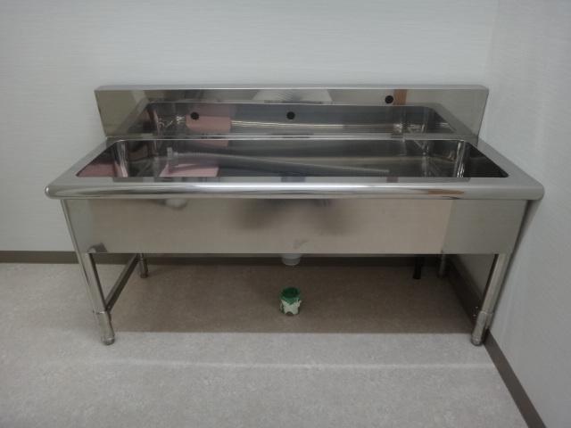 幼稚園用手洗いシンク|保育園用手洗いシンク|設置例